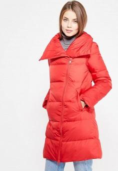 Пуховик, Baon, цвет: красный. Артикул: BA007EWWAQ58. Женская одежда / Верхняя одежда / Пуховики и зимние куртки