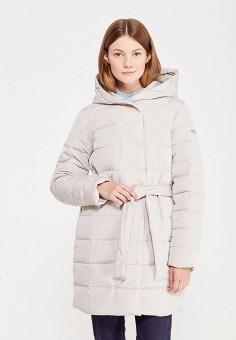 Пуховик, Baon, цвет: бежевый. Артикул: BA007EWWAQ71. Женская одежда / Верхняя одежда / Пуховики и зимние куртки