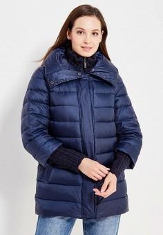 Пуховик, Baon, цвет: синий. Артикул: BA007EWWAQ79. Женская одежда / Верхняя одежда / Пуховики и зимние куртки