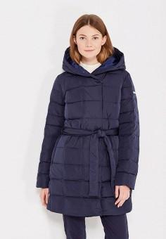 Пуховик, Baon, цвет: синий. Артикул: BA007EWWAQ80. Женская одежда / Верхняя одежда / Пуховики и зимние куртки