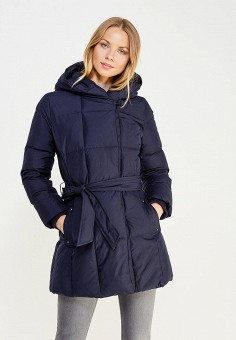 Пуховик, Baon, цвет: синий. Артикул: BA007EWWAQ81. Женская одежда / Верхняя одежда / Пуховики и зимние куртки