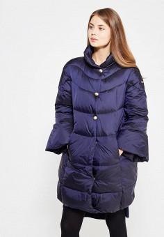 Пуховик, Baon, цвет: синий. Артикул: BA007EWWAQ96. Женская одежда / Верхняя одежда / Пуховики и зимние куртки