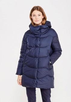 Пуховик, Baon, цвет: синий. Артикул: BA007EWWAR04. Женская одежда / Верхняя одежда / Пуховики и зимние куртки