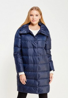 Пуховик, Baon, цвет: синий. Артикул: BA007EWWAR13. Женская одежда / Верхняя одежда / Пуховики и зимние куртки