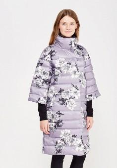 Пуховик, Baon, цвет: фуксия. Артикул: BA007EWWAR23. Женская одежда / Верхняя одежда / Пуховики и зимние куртки