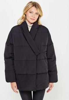 Пуховик, Baon, цвет: черный. Артикул: BA007EWWAR39. Женская одежда / Верхняя одежда / Пуховики и зимние куртки