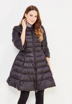 Пуховик, Baon, цвет: черный. Артикул: BA007EWWAR44. Женская одежда / Верхняя одежда / Пуховики и зимние куртки / Длинные пуховики и куртки