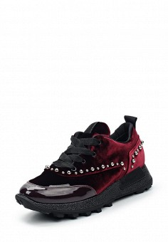 Кроссовки, Barracuda, цвет: бордовый. Артикул: BA056AWUSC66. Женская обувь / Кроссовки и кеды