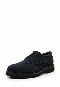 Ботинки, Baldinini, цвет: синий. Артикул: BA097AMTBY73. Мужская обувь / Ботинки и сапоги
