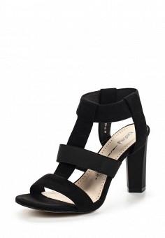 Босоножки, Betsy, цвет: черный. Артикул: BE006AWQBU51. Женская обувь