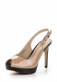 Босоножки, Betsy, цвет: бежевый. Артикул: BE006AWQBU65. Женская обувь