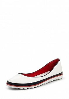 Балетки, Betsy, цвет: белый. Артикул: BE006AWQBU91. Женская обувь