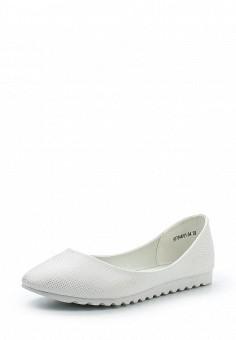 Балетки, Betsy, цвет: белый. Артикул: BE006AWQBU96. Женская обувь