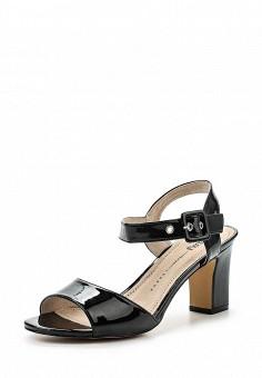 Босоножки, Betsy, цвет: черный. Артикул: BE006AWQCC33. Женская обувь