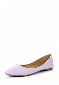Балетки, Betsy, цвет: фиолетовый. Артикул: BE006AWQCC62. Женская обувь