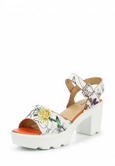 Босоножки, Betsy, цвет: белый. Артикул: BE006AWQCC93. Женская обувь