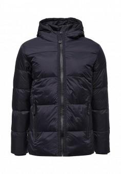 Куртка утепленная, Befree, цвет: синий. Артикул: BE031EMVDD54. Мужская одежда / Верхняя одежда / Пуховики и зимние куртки