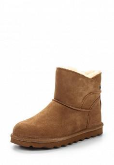 Полусапоги, Bearpaw, цвет: коричневый. Артикул: BE223AWYBR52. Женская обувь / Сапоги
