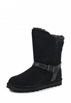 Полусапоги, Bearpaw, цвет: черный. Артикул: BE223AWYBR58. Женская обувь / Сапоги