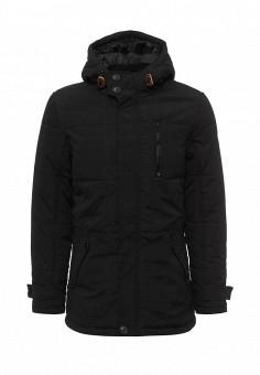 Куртка утепленная, Blend, цвет: черный. Артикул: BL203EMVDF06. Мужская одежда / Верхняя одежда / Пуховики и зимние куртки