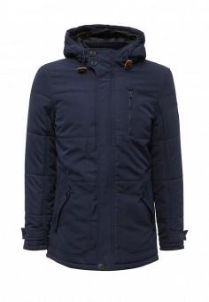 Куртка утепленная, Blend, цвет: синий. Артикул: BL203EMVDF07. Мужская одежда / Верхняя одежда / Пуховики и зимние куртки