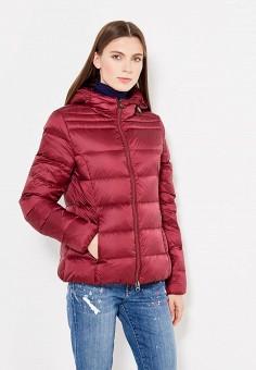 Пуховик, Bosideng, цвет: бордовый. Артикул: BO026EWVBC38. Женская одежда / Верхняя одежда / Пуховики и зимние куртки