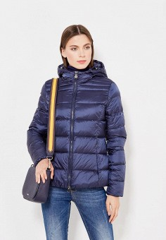 Пуховик, Bosideng, цвет: синий. Артикул: BO026EWVBC40. Премиум / Одежда / Верхняя одежда / Пуховики и зимние куртки