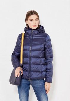 Пуховик, Bosideng, цвет: синий. Артикул: BO026EWVBC40. Женская одежда / Верхняя одежда / Пуховики и зимние куртки
