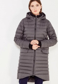 Пуховик, Bosideng, цвет: серый. Артикул: BO026EWVBC50. Женская одежда / Верхняя одежда / Пуховики и зимние куртки