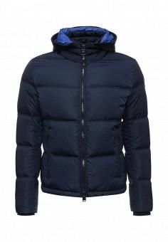 Пуховик, Boss Hugo Boss, цвет: синий. Артикул: BO246EMTPT44. Премиум / Одежда / Верхняя одежда / Пуховики