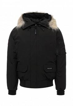 Пуховик, Canada Goose, цвет: черный. Артикул: CA997EMVBM40. Мужская одежда / Верхняя одежда
