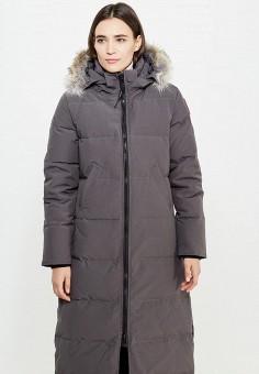 Пуховик, Canada Goose, цвет: серый. Артикул: CA997EWVBM49. Премиум / Одежда / Верхняя одежда / Пуховики и зимние куртки