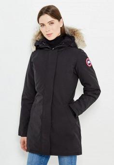 Пуховик, Canada Goose, цвет: черный. Артикул: CA997EWVBM51. Премиум / Одежда / Верхняя одежда / Пуховики и зимние куртки