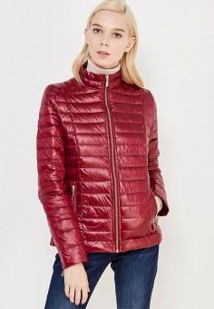 Пуховик, Concept Club, цвет: бордовый. Артикул: CO037EWWFD37. Женская одежда / Верхняя одежда
