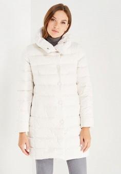 Пуховик, Defreeze, цвет: белый. Артикул: DE032EWWZS28. Женская одежда / Верхняя одежда / Пуховики и зимние куртки