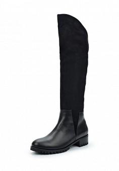 Ботфорты, El'Rosso, цвет: черный. Артикул: EL032AWWST05. Женская обувь / Сапоги