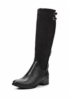 Сапоги, Simen, цвет: черный. Артикул: ER946AWJZ050. Женская обувь / Сапоги / Сапоги