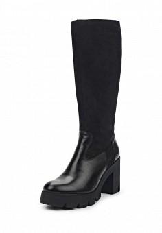 Сапоги, Simen, цвет: черный. Артикул: ER946AWUZN38. Женская обувь / Сапоги / Сапоги