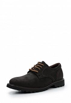 Ботинки, Escan, цвет: коричневый. Артикул: ES021AMVZF30. Мужская обувь / Ботинки и сапоги