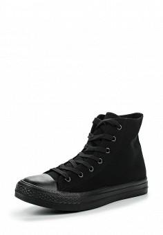 Кеды, Fashion & Bella, цвет: черный. Артикул: FA034AWPSH32. Женская обувь / Кроссовки и кеды