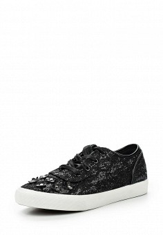 Кеды, Fashion & Bella, цвет: черный. Артикул: FA034AWQTI63. Женская обувь / Кроссовки и кеды
