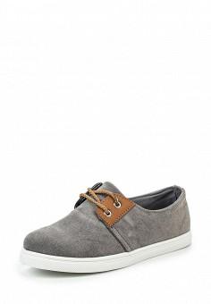 Кеды, Fashion & Bella, цвет: серый. Артикул: FA034AWQTI76. Женская обувь / Кроссовки и кеды