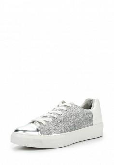 Кеды, Fashion & Bella, цвет: серебряный. Артикул: FA034AWSAE83. Женская обувь / Кроссовки и кеды