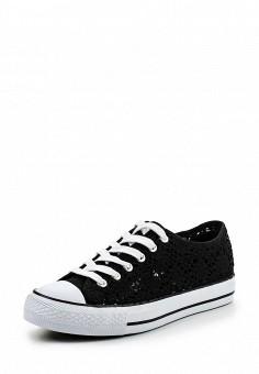 Кеды, Fashion & Bella, цвет: черный. Артикул: FA034AWSSF89. Женская обувь / Кроссовки и кеды