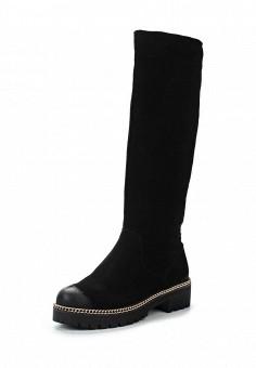 Сапоги, Francesco Donni, цвет: черный. Артикул: FR034AWWTF30. Женская обувь / Сапоги