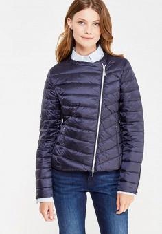 Пуховик, Geox, цвет: синий. Артикул: GE347EWVAL88. Женская одежда / Верхняя одежда / Пуховики и зимние куртки