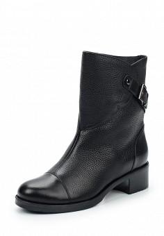 Полусапоги, Giotto, цвет: черный. Артикул: GI514AWWHA31. Женская обувь / Сапоги