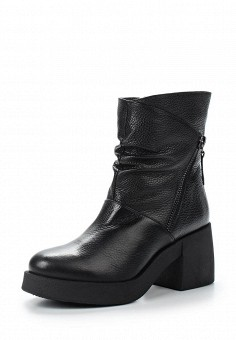 Полусапоги, Giotto, цвет: черный. Артикул: GI514AWWHA32. Женская обувь / Сапоги