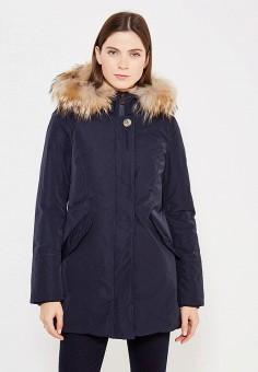 Пуховик, Hetrego, цвет: синий. Артикул: HE832EWVIV30. Премиум / Одежда / Верхняя одежда / Пуховики и зимние куртки