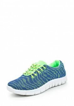 Кроссовки, Ideal Shoes, цвет: синий. Артикул: ID005AWPSL63. Женская обувь / Кроссовки и кеды